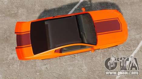 GTA V Vapid Dominator wheels v2 para GTA 4 visión correcta