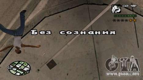 Fuente nueva V.2 para GTA San Andreas séptima pantalla