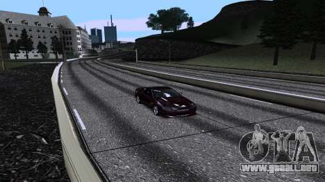 New Roads v3.0 Final para GTA San Andreas sucesivamente de pantalla