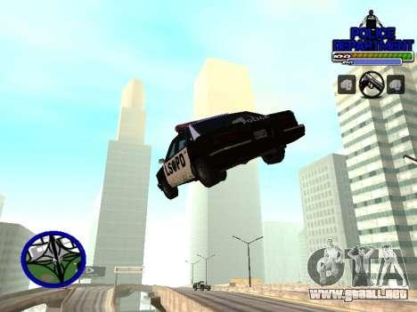 С-Hud Departamento De La Policía De para GTA San Andreas tercera pantalla