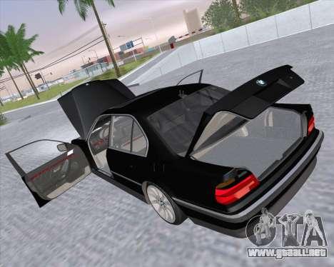 BMW 7-series E38 para vista lateral GTA San Andreas