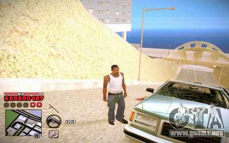 C-HUD by ComPot para GTA San Andreas tercera pantalla