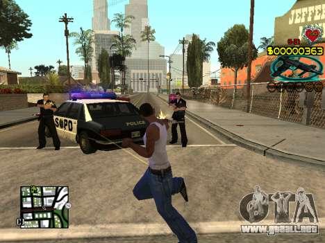 C-HUD Guns para GTA San Andreas