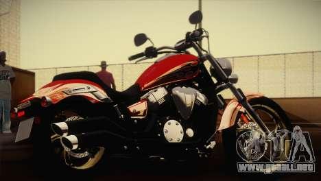 Yamaha Star Stryker 2012 para GTA San Andreas left