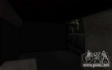 S.W.A.T van para la visión correcta GTA San Andreas