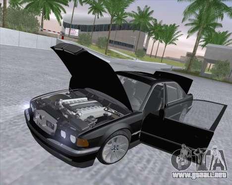 BMW 7-series E38 para visión interna GTA San Andreas