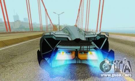 Lamborghini Egoista para el motor de GTA San Andreas