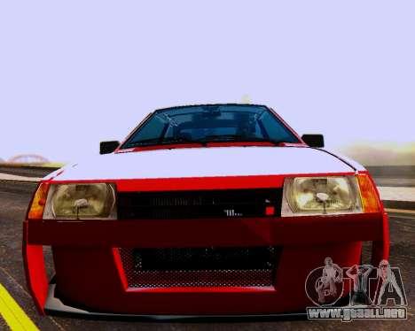 VAZ 2108 Sintonizable para el motor de GTA San Andreas