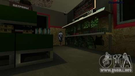 HD inmunizar para GTA San Andreas tercera pantalla