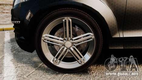 Audi Q7 TEK [ELS] para GTA 4 vista hacia atrás