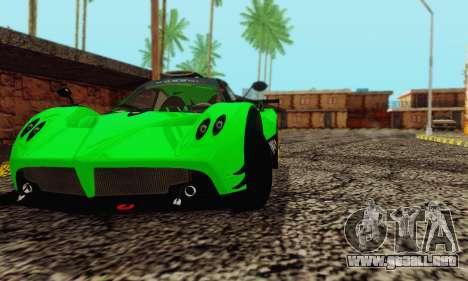 Pagani Zonda Type R Green para la visión correcta GTA San Andreas