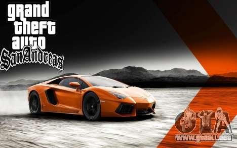 Nuevo arranque de pantallas Ultra HD (3840x2160) para GTA San Andreas