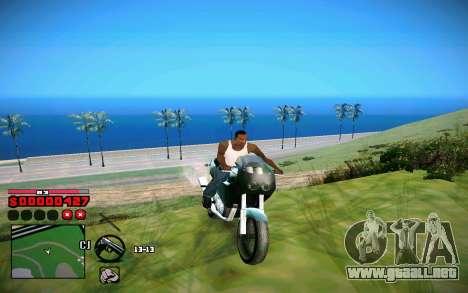 C-HUD by ComPot para GTA San Andreas