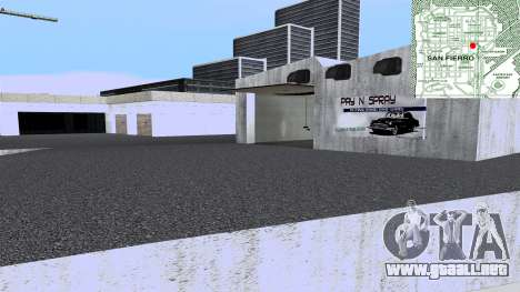 New Wang Cars para GTA San Andreas quinta pantalla