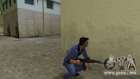 Kalashnikov Modernizado para GTA Vice City quinta pantalla