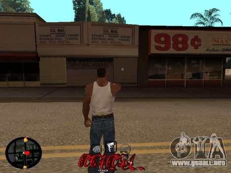 C-HUD Coca-Cola para GTA San Andreas segunda pantalla