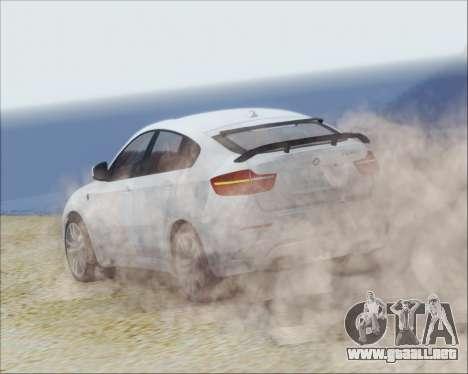 BMW X6 M 2013 Final para la visión correcta GTA San Andreas