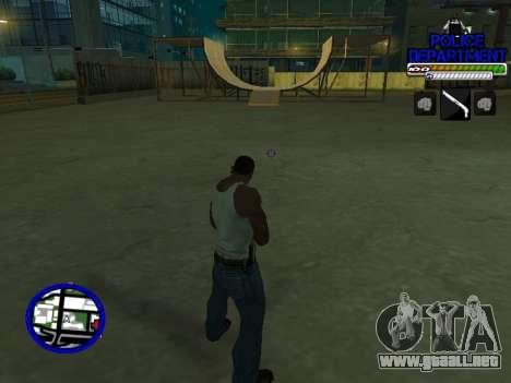С-Hud Departamento De La Policía De para GTA San Andreas