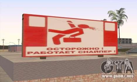 Tienda De Alimentos Saludables para GTA San Andreas tercera pantalla