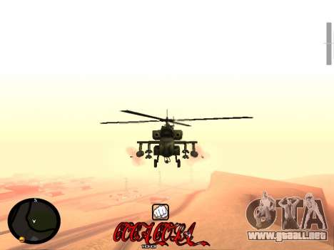 C-HUD Coca-Cola para GTA San Andreas sucesivamente de pantalla