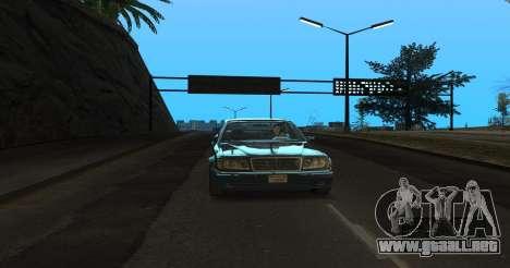 ENB Series for SA:MP para GTA San Andreas tercera pantalla