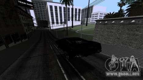 New Roads v1.0 para GTA San Andreas octavo de pantalla