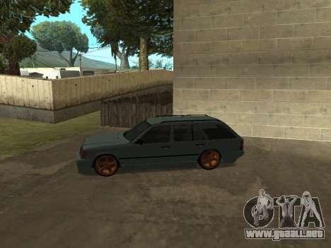 Mercedes-Benz W124 Wagon para GTA San Andreas vista posterior izquierda