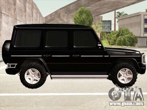 Mercedes-Benz G500 para la vista superior GTA San Andreas