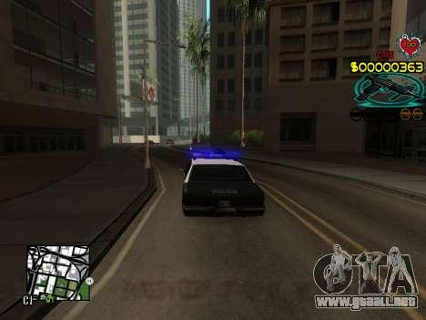 C-HUD Guns para GTA San Andreas quinta pantalla