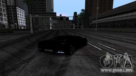 New Roads v1.0 para GTA San Andreas sucesivamente de pantalla
