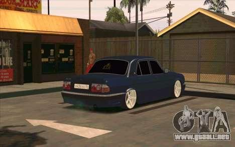 GAZ 31105 para vista lateral GTA San Andreas