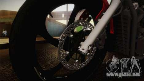 Yamaha Star Stryker 2012 para la visión correcta GTA San Andreas