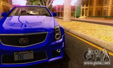 Cadillac CTS-V Sedan 2009-2014 para GTA San Andreas interior