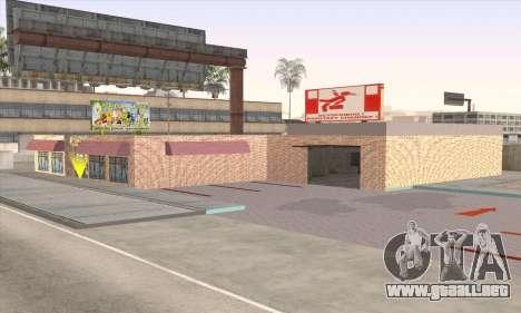 Tienda De Alimentos Saludables para GTA San Andreas sucesivamente de pantalla