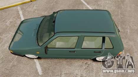 Fiat Uno para GTA 4 visión correcta