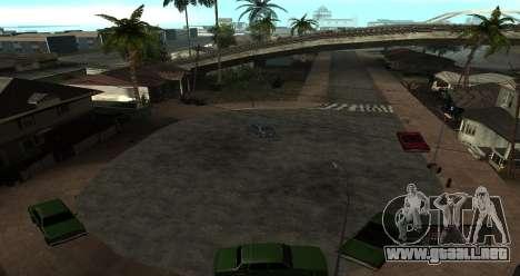ENB Series for SA:MP para GTA San Andreas octavo de pantalla