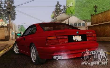 BMW 850CSi E31 1996 para GTA San Andreas left