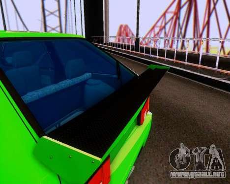 VAZ 2108 Sintonizable para la vista superior GTA San Andreas