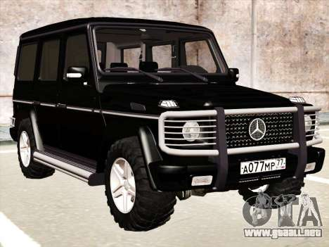 Mercedes-Benz G500 para vista lateral GTA San Andreas