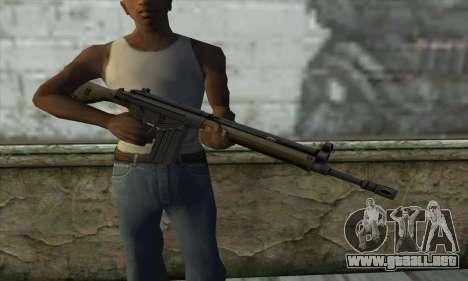 G3A3 para GTA San Andreas tercera pantalla