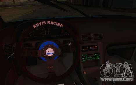 Nissan 240SX Drift Stance para visión interna GTA San Andreas