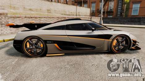 Koenigsegg One:1 [EPM] para GTA 4 left