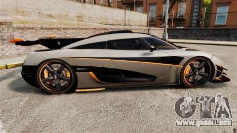 Koenigsegg One:1 [EPM] para GTA 4 left