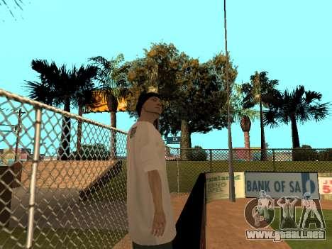 La piel Trazador GPF Equipo para GTA San Andreas sucesivamente de pantalla