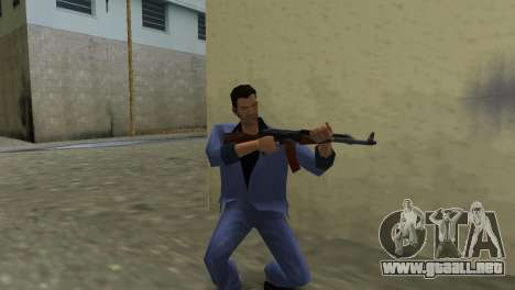 Kalashnikov Modernizado para GTA Vice City segunda pantalla