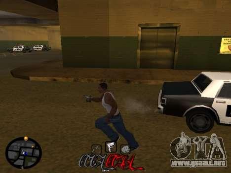 C-HUD Coca-Cola para GTA San Andreas quinta pantalla