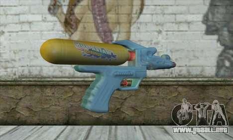 Water Gun para GTA San Andreas segunda pantalla