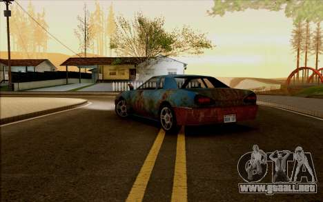 Elegy by Swizzy para GTA San Andreas left