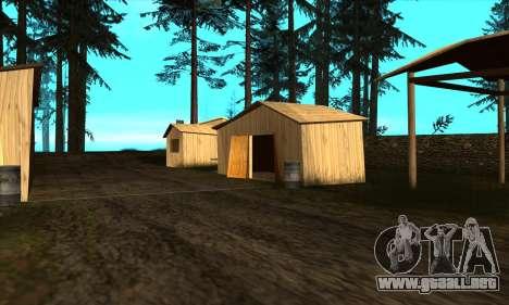 Casas nuevas en el PANÓPTICO para GTA San Andreas sucesivamente de pantalla