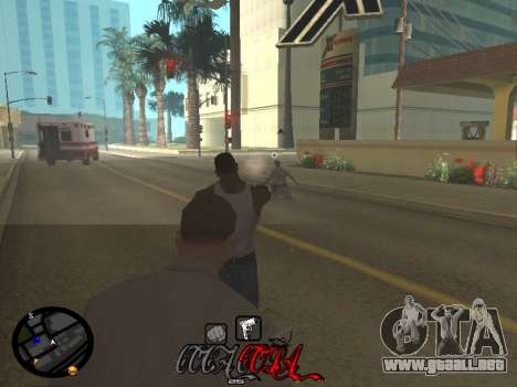 C-HUD Coca-Cola para GTA San Andreas sexta pantalla